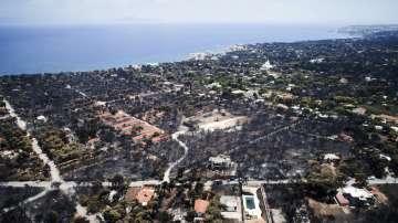 Гръцкото правителство одобри мерките за подпомагане на пострадалите от пожарите