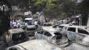 Българка от Рафина разказва за кошмарната нощ от огнената стихия в Гърция