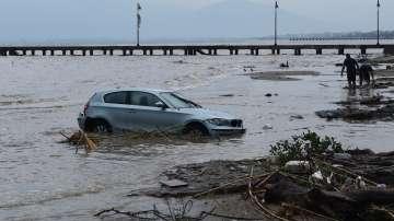 Извънредно положение в Солун и Пелопонес заради пороите