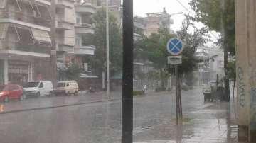 Бедствено положение в Халкидики заради циклона Нефели