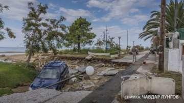 Помощ за българите, пострадали при наводнението в Халкидики