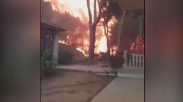 Нараства броят на жертвите след пожарите в Гърция