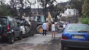 Гръцки журналист от ЕRТ с последна информация за обстановката след пожарите
