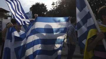 В 24 гръцки града започнаха протестите заради спора с името на Македония