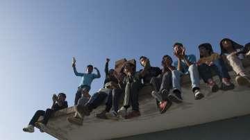 Метеж в център за задържане на нелегални имигранти в Мадрид