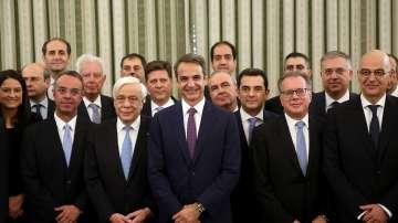 Новите гръцки министри положиха клетва