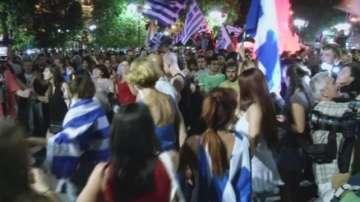 Гърция празнува Не