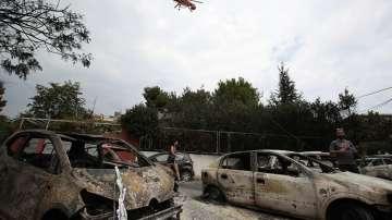 Няма опасност за живота на пострадалата при пожарите в Гърция българка