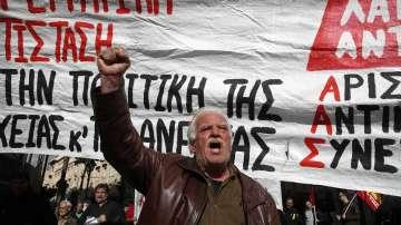 Обща 24-часова стачка в Гърция