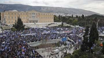 Гърция на протест срещу Договора от Преспа за името Северна Македония