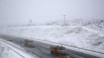Сурова зима в Европа. Студ и сняг сковаха Западните Балкани