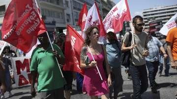 Една от най-масовите стачки блокира Гърция