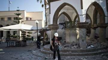 Обстановката след разрушителното земетресение в Егейско море
