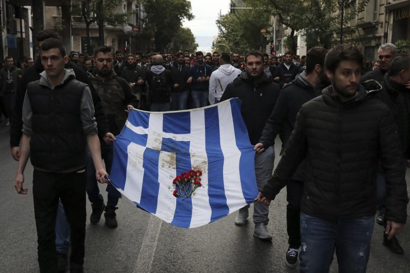 гърция отбеляза ата годишнина студентските бунтове военната хунта