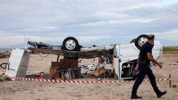 Две деца са сред загиналите туристи при бедствието на Халкидики