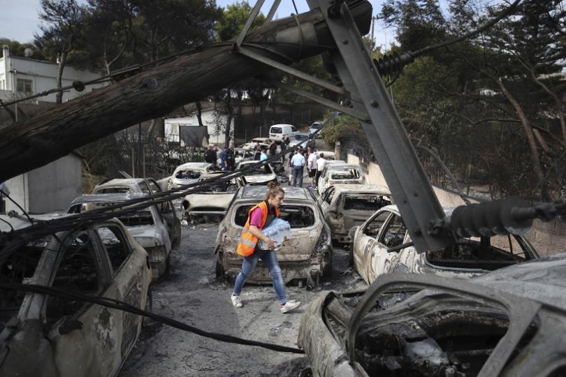 ЕК ще активира механизма за гражданска защита в помощ на Гърция