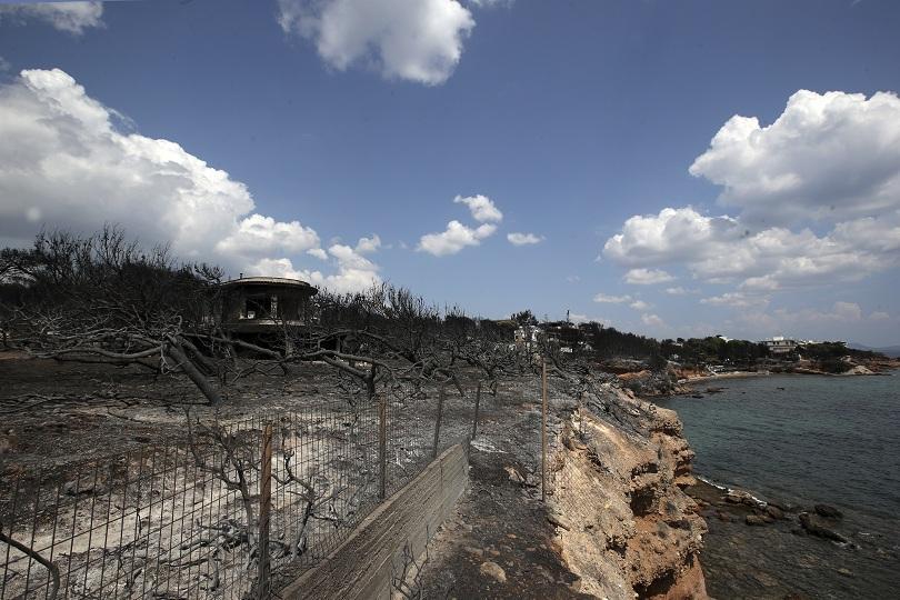 горските пожари гърция вече застрашават населени места