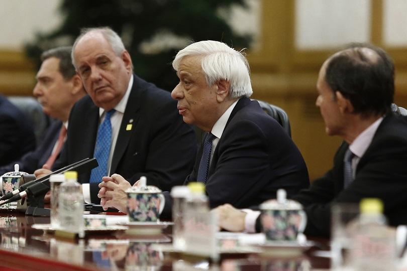 Павлопулос предупреди Турция за гръцкото право на изключителна икономическа зона
