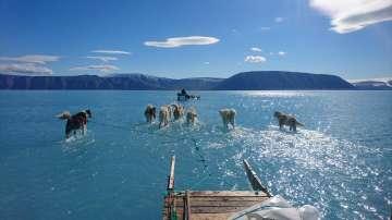 Ледът в Гренландия ще се стопи до 3000 година