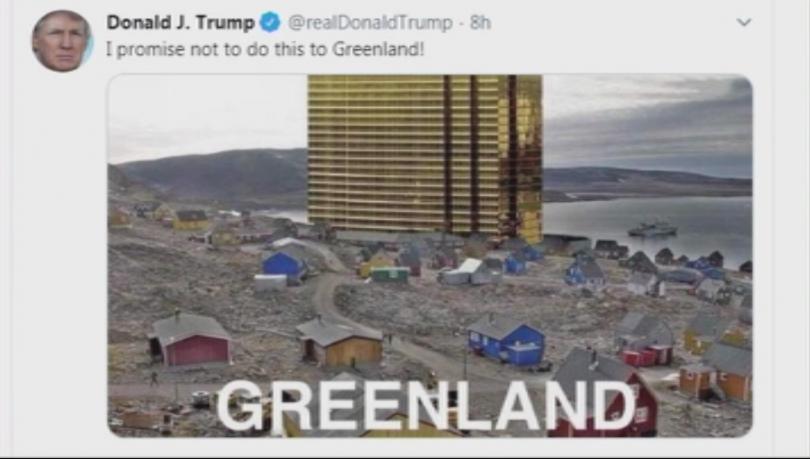 Американският президент Доналд Тръмп отново предизвика гнева на Гренландия, този