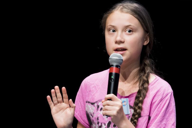 Шведската тийнейджърка Грета Тунберг, която създаде младежко движение за промени