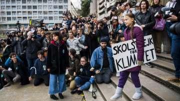 Грета Тунберг участва в нова демонстрация за климата в Лозана