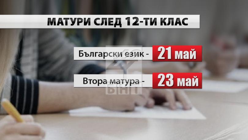 снимка 2 Промени в датите на изпитите след VII клас и ваканциите