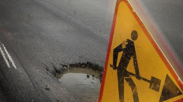 Протест с искане за ремонт на пътя Самоков - Дупница