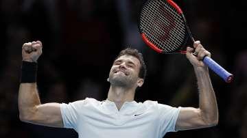 Григор Димитров с отличен старт в турнира на най-добрите осем