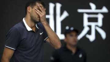 Григор Димитров отпадна във втория кръг на турнира в Пекин