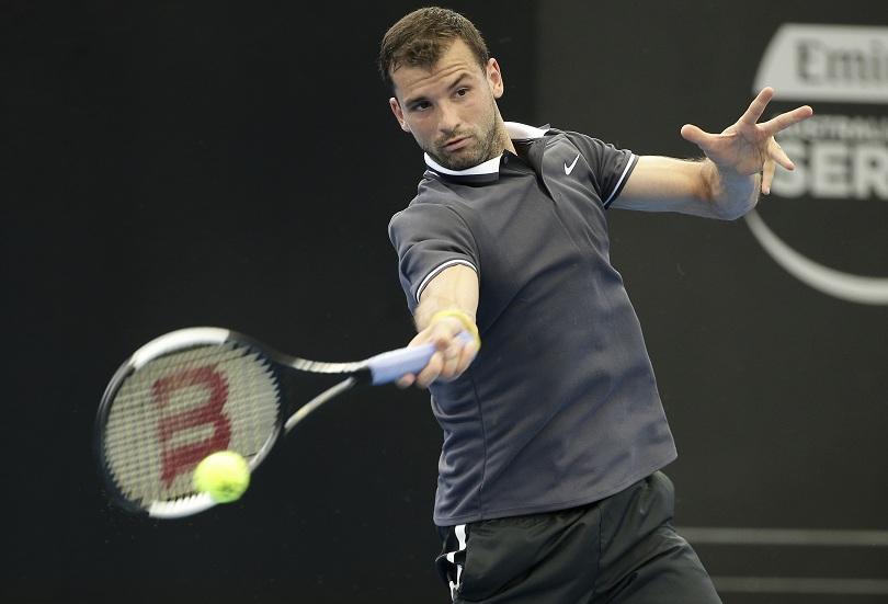 Григор Димитров ще играе срещу Нишикори на четвъртфинал в Бризбейн