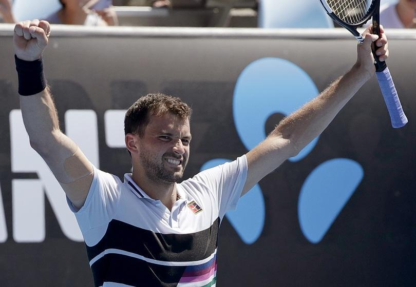 Григор Димитров победи в първия кръг на Australian Open