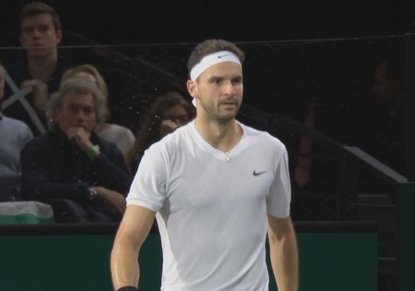 Григор Димитров продължава победния си ход на тенис турнира от