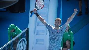 Григор Димитров е полуфиналист на Откритото първенство по тенис на Австралия