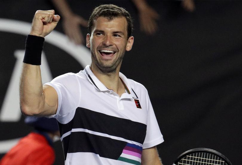Снимка: Григор Димитров с нов успех на Откритото първенство по тенис на Австралия