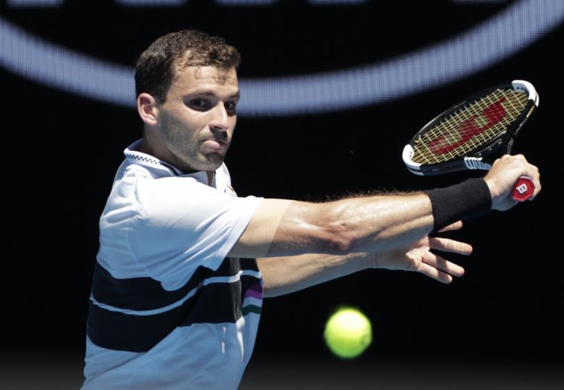 Григор Димитров падна със седем позиции в световната ранглиста и