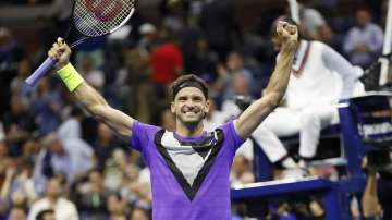Григор Димитров е на полуфинал на US Open след победа срещу Федерер