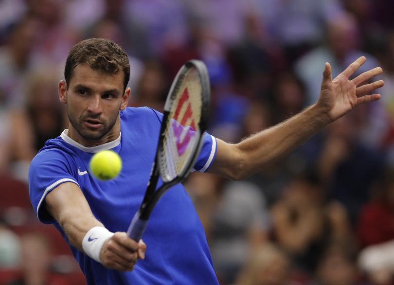 Григор Димитров изведе напред в резултата тима на Европа в