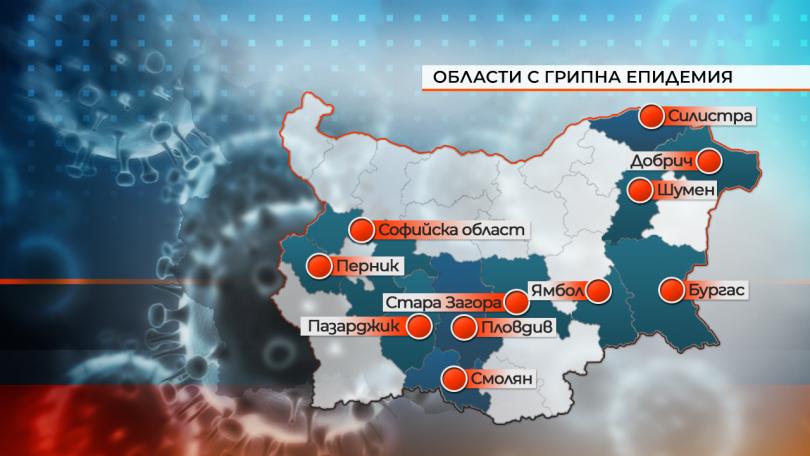 Грипна епидемия от днес в Добрич, а от утре в