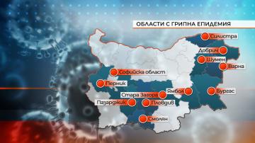 В 12 области в страната е обявена грипна епидемия