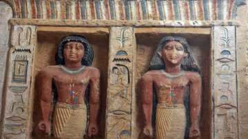 Откриха неизвестна досега гробница в Египет на 4400 години