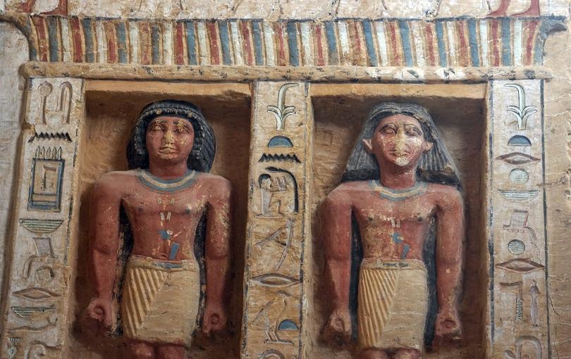 Снимка: Откриха неизвестна досега гробница в Египет на 4400 години