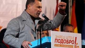 Никола Груевски беше осъден на 2 години затвор за корупция