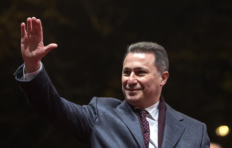 Взимат депутатския мандат на Груевски