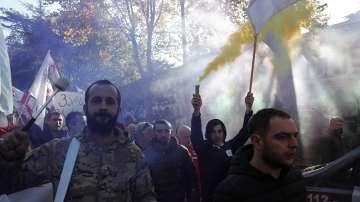 Протестиращи в Грузия настояха за предсрочни избори