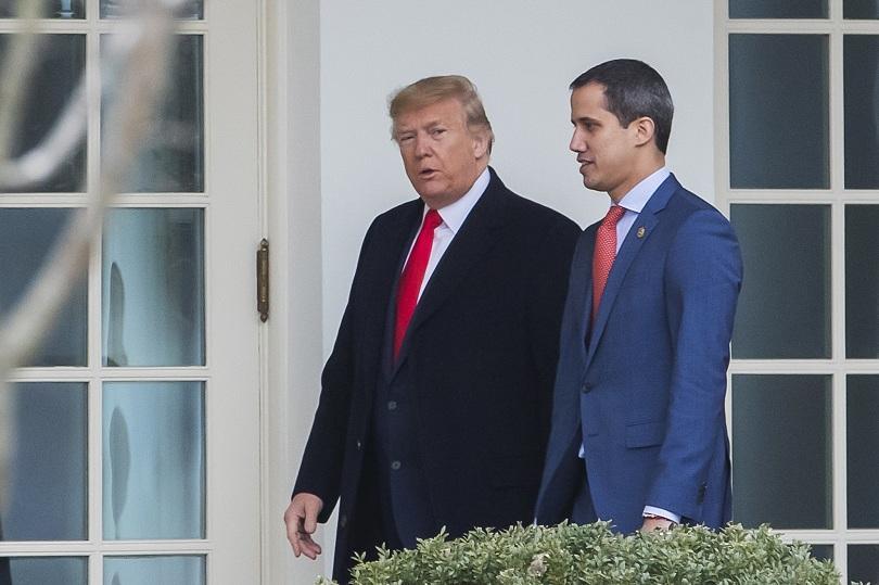 Президентът на САЩ Доналд Тръмп се срещна в американската столица