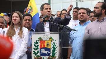 Хиляди посрещнаха Гуайдо в Каракас