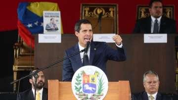 Парламентът на Гуайдо одобри пакт за чуждестранна военна помощ