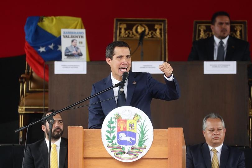 парламентът гуайдо одобри пакт чуждестранна военна помощ