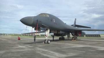 Американската въздушна база Андерсън на остров Гуам отвори врати за медиен тур